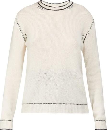 Marni Contrast-stitch cashmere sweater
