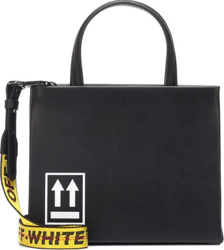 Off White Mini Box leather shoulder bag