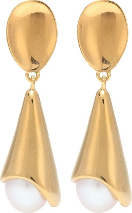 Sophie Buhai Anna 18kt gold vermeil and freshwater pearl earrings