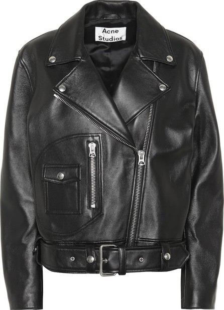 Acne Studios New Merlyn leather jacket