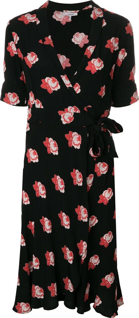 Ganni Harley floral print dress
