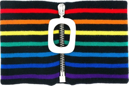 J.W.Anderson knitted striped neckband