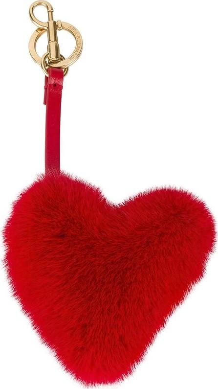 Anya Hindmarch tassel heart bag charm