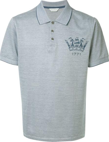 Gieves & Hawkes Logo detail polo shirt