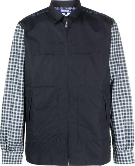 Junya Watanabe MAN Checked panel shirt jacket