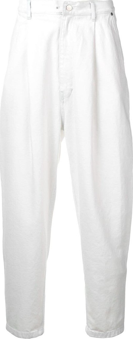 Hed Mayner Drop-crotch corduroy trousers