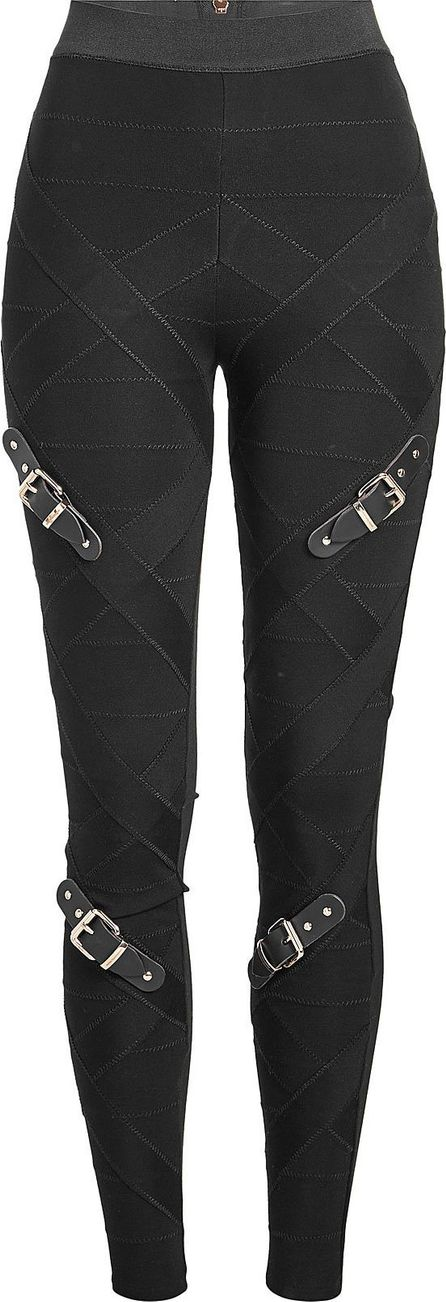 Marina Hoermanseder Bandage Pants with Buckles
