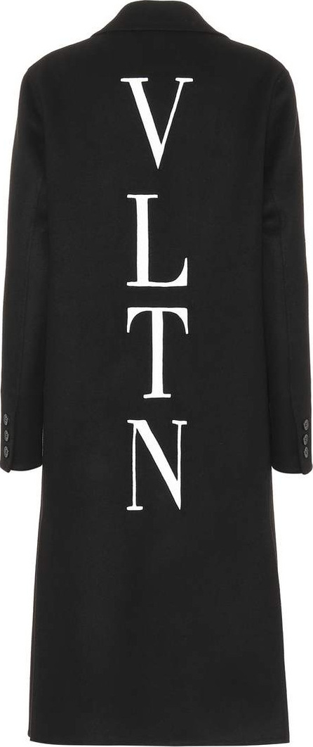Valentino VLTN wool and cashmere coat