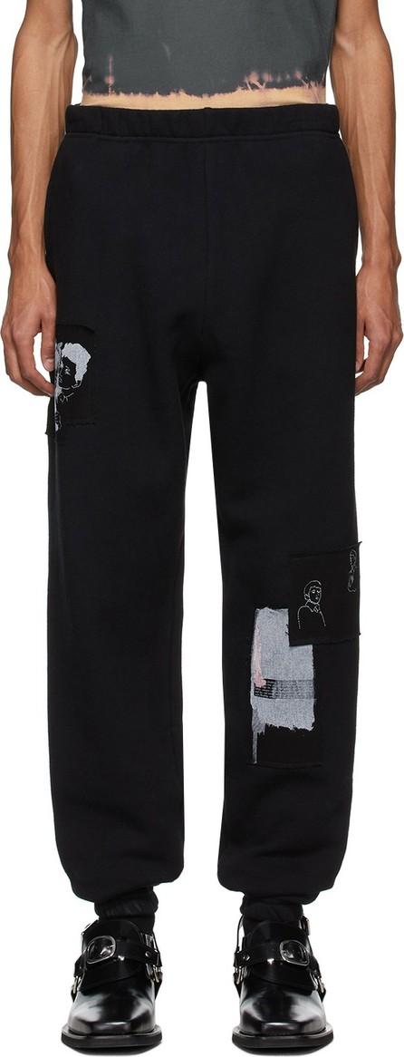 Enfants Riches Deprimes Black Assemblage Lounge Pants