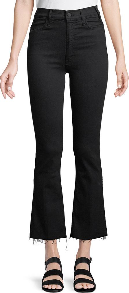 MOTHER Hustler Frayed Ankle Boot-Cut Jeans