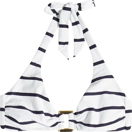 HEIDI KLEIN Core Nautical Striped Bikini Top