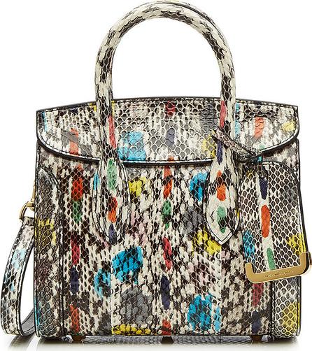 Alexander McQueen Mini Heroine 21 Snakeskin Shoulder Bag