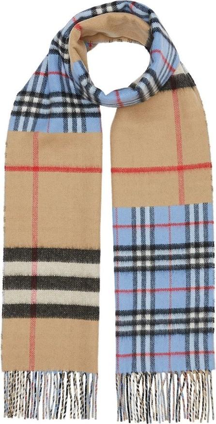 Burberry London England Contrast check scarf