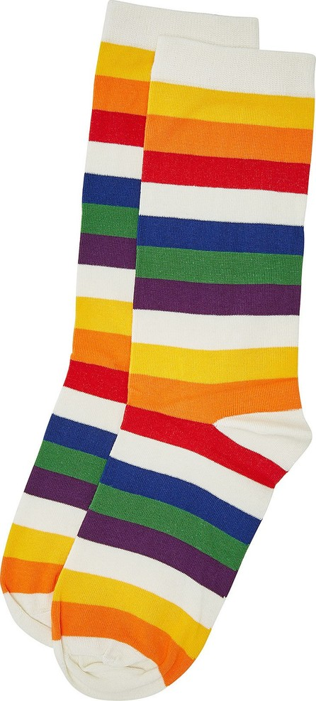 MARC JACOBS Stretch Cotton Rainbow Socks