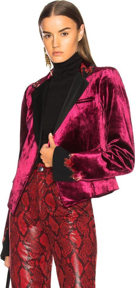 Haider Ackermann Embroidered Short Blazer