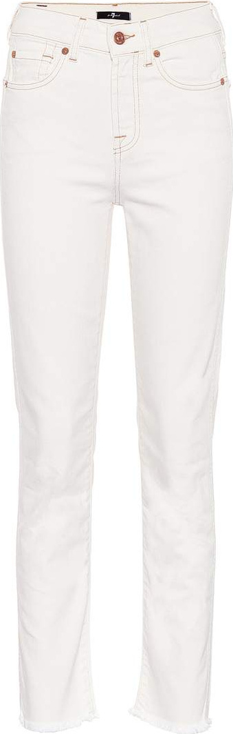 7 For All Mankind Erin straight-leg jeans