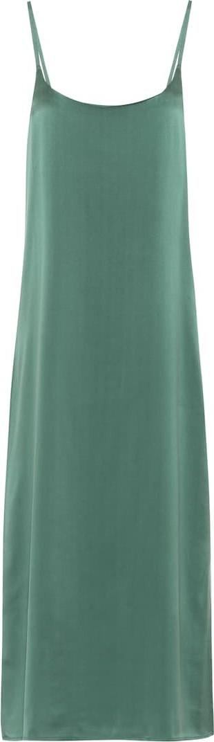 Asceno Silk slip dress