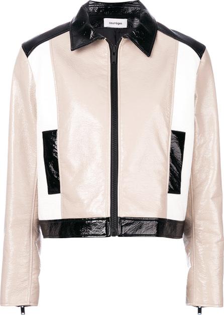 CourrèGes Tricolour jacket
