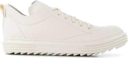 Artselab Textured lace-up sneakers