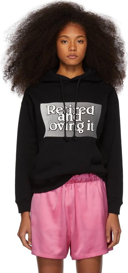 Ashley Williams Black 'Retired and Loving It' Hoodie