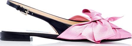 Prada M'O Exclusive: Ballerina Slingback Flat
