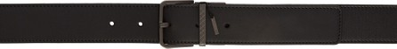 Bottega Veneta Reversible Black Classic Belt