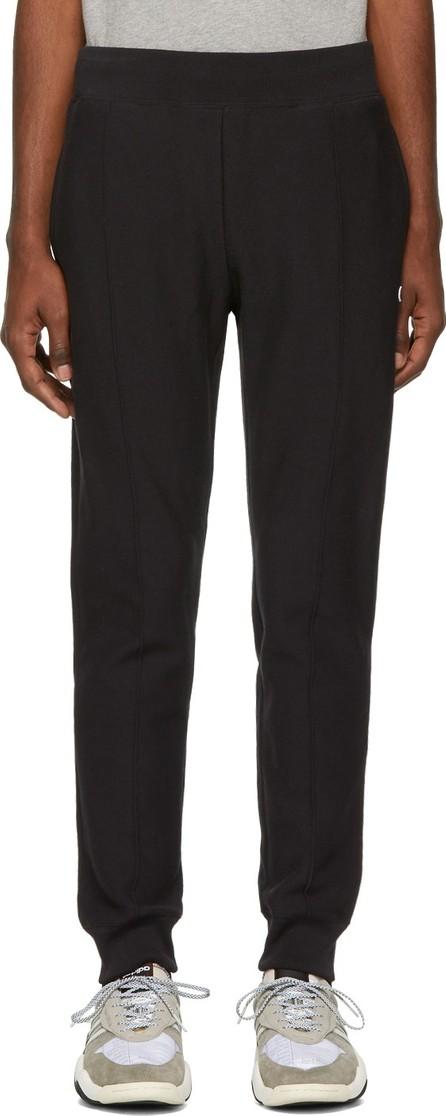Champion Reverse Weave Black Cuffed Jogger Pants