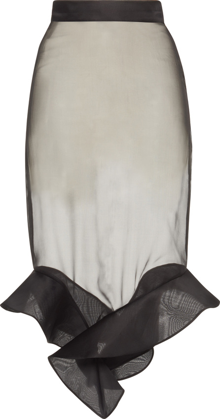 Francesco Scognamiglio Ruffled High Waist Skirt