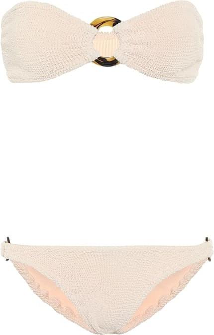 Hunza G Gloria bandeau bikini