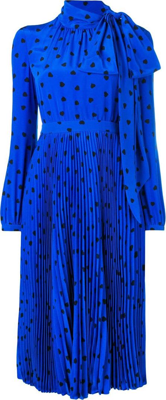 Valentino Star print midi dress