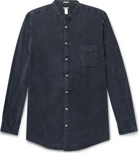 Massimo Alba Grandad-Collar Cotton-Corduroy Shirt
