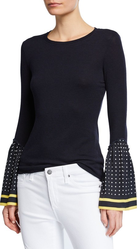 Bailey 44 Shanghaied Dot-Point-Sleeve Sweater