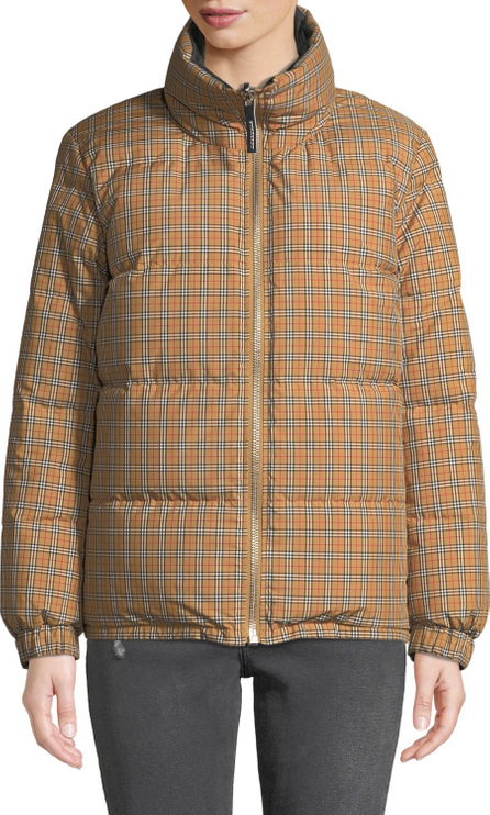 Burberry London England Reversible Check Puffer Jacket
