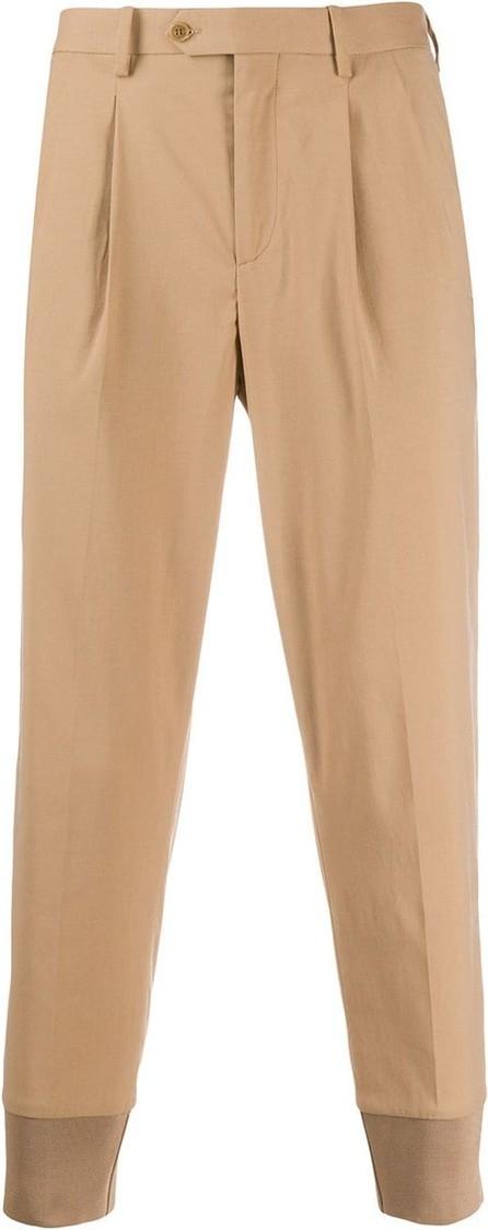 Neil Barrett Cropped tapered-leg trousers