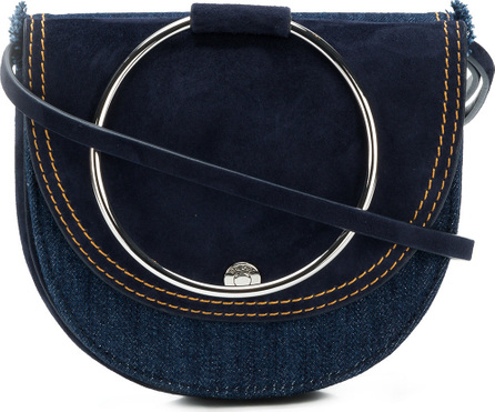 Theory Foldover satchel bag