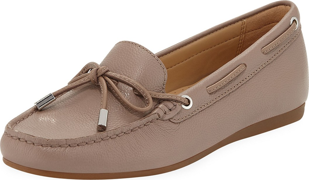 cbbffd2775f MICHAEL MICHAEL KORS Sutton Tumbled Leather Moccasins - Mkt