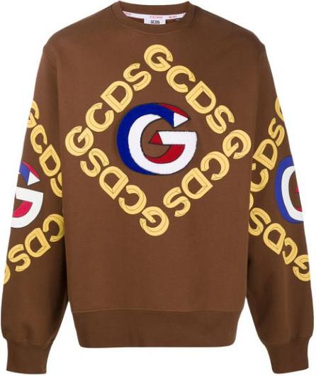 Gcds 3D logo sweatshirt