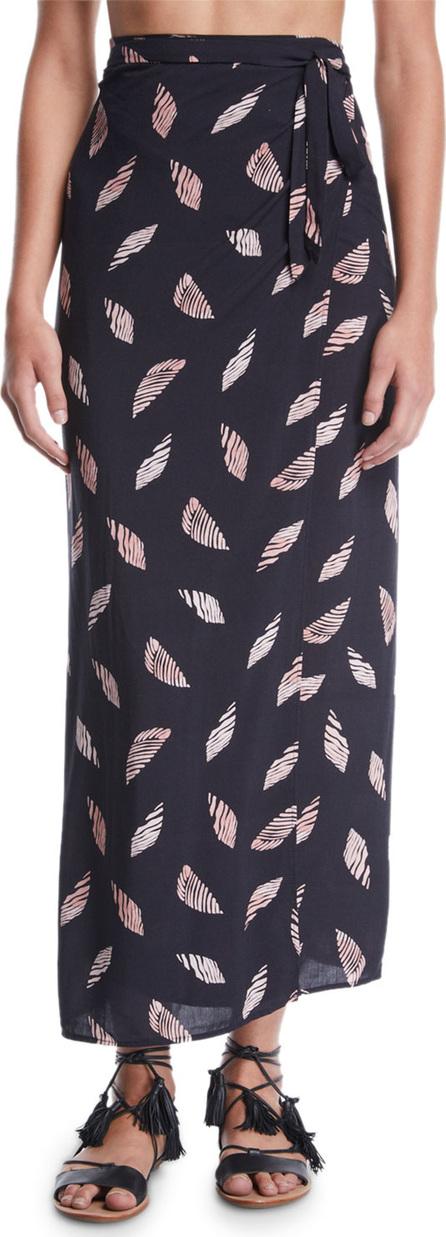 ViX Swimwear Lee Printed Wrap Coverup Skirt