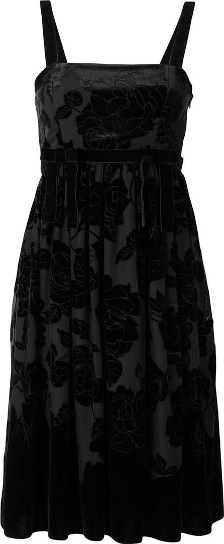 Blugirl Devore velvet dress