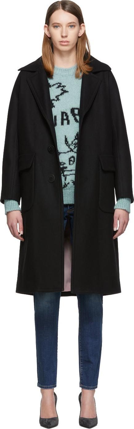 DSQUARED2 Black Alberta Coat