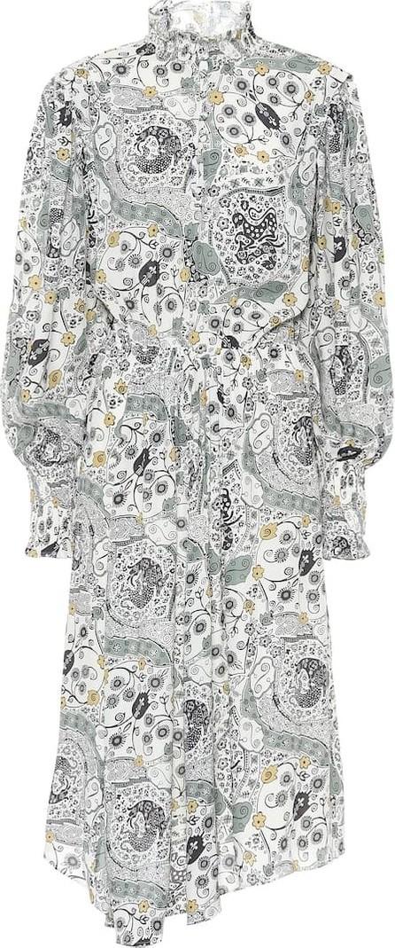 Isabel Marant Etoile Cescott printed midi dress