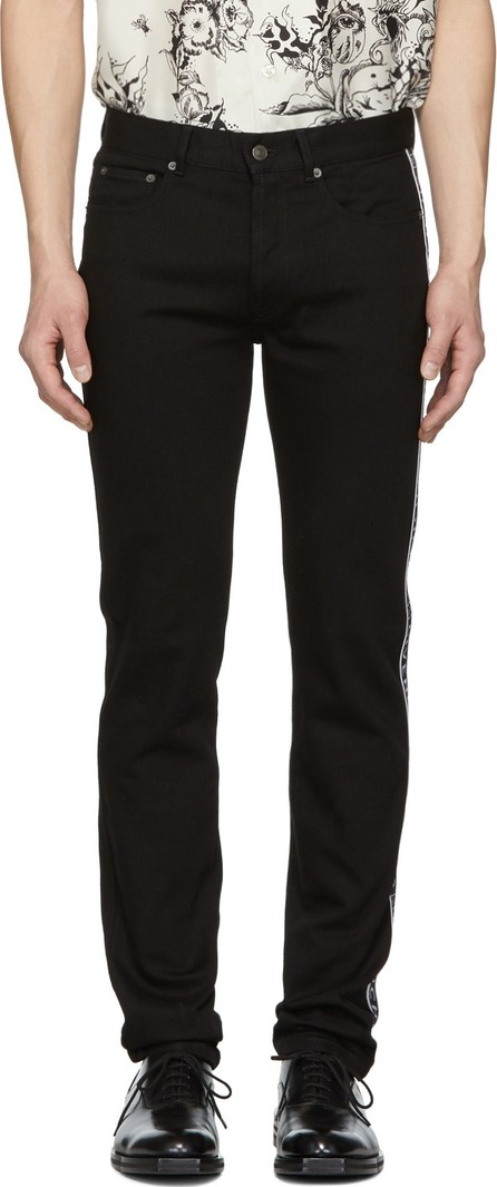 Givenchy Black Slim-Fit 4G Jeans