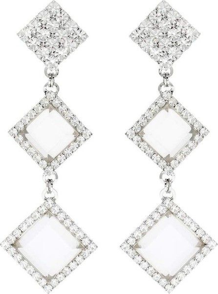 Alessandra Rich Crystal clip-on earrings
