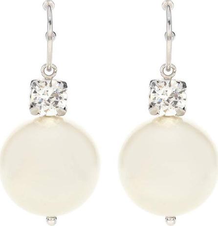 Simone Rocha Crystal and faux pearl earrings