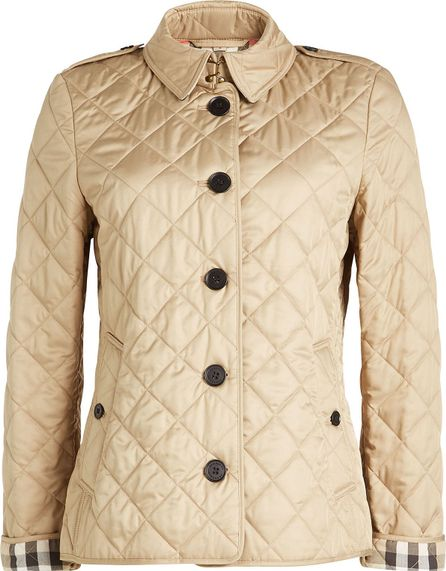 Burberry London England Quilted Jacket