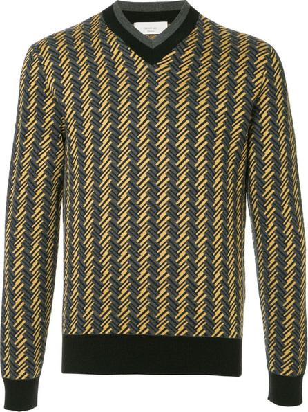 Cerruti 1881 Geometric knit sweater