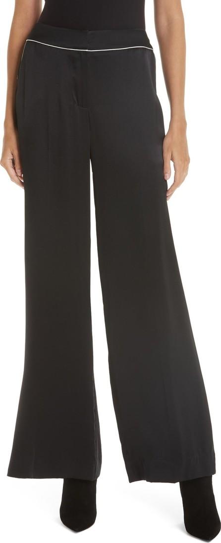 GREY Jason Wu Wide Leg Silk Charmeuse Pants
