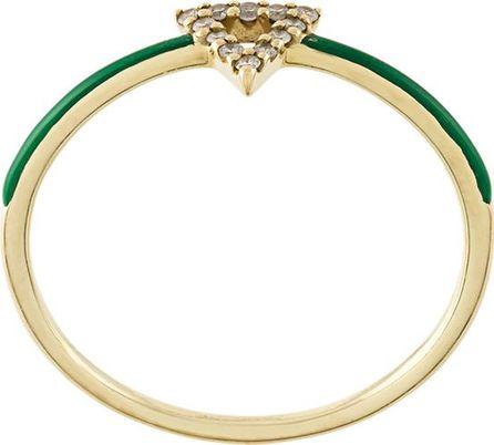 Gisele For Eshvi triangle motif ring
