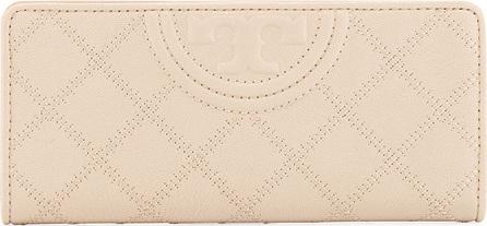 Tory Burch Fleming Distressed Slim Envelope Wallet