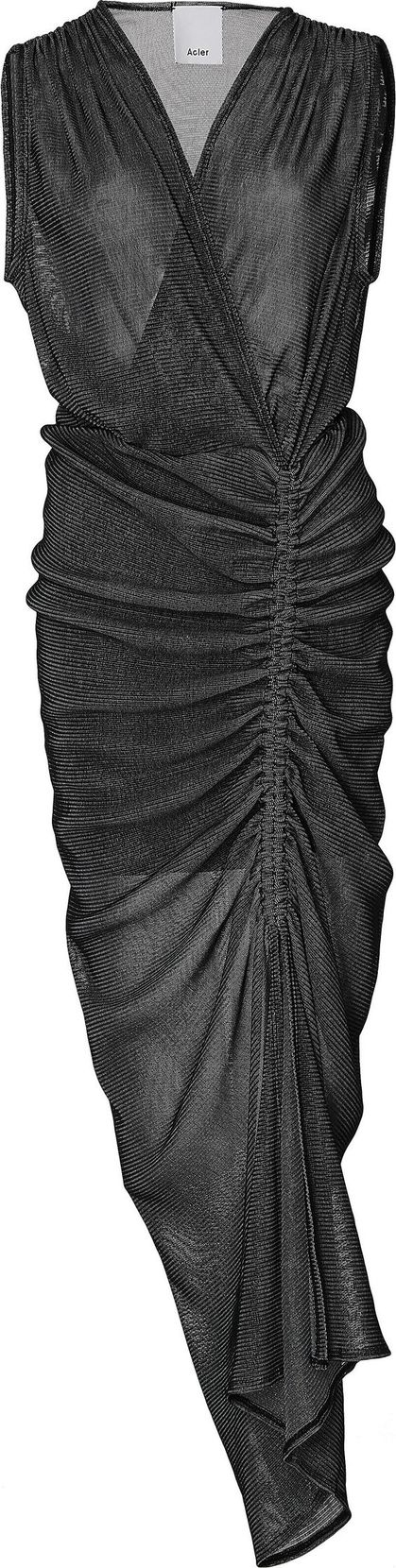 Acler Barlett Gathered Knit Dress
